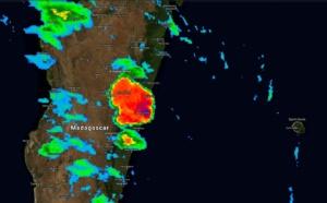 Spectaculaire développement orageux sur la côte est de Mada