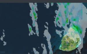 04h: averses sur la motié nord est de Maurice