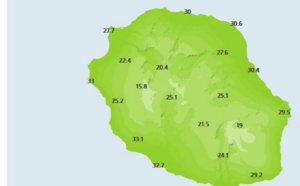 Réunion: chaleur: c'est reparti pour un tour