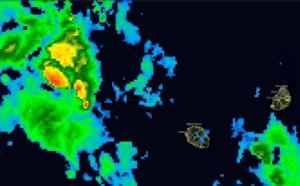 Réunion/Maurice: temps instable mais pas aussi perturbé que prévu pour le moment.