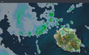 11h20: Réunion: des averses pour la moitié nord