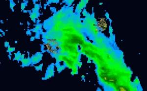 17h: Réunion: les averses a priori davantage sur la moitié sud cette nuit