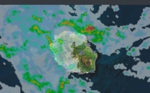 01h25: Réunion: averses parfois soutenues sur l'ouest et le nord