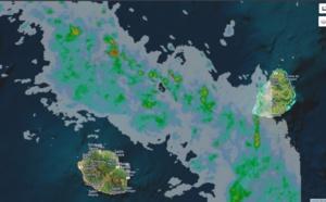 06h20: MAURICE: averses orageuses toutes proches