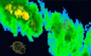 08h00: Maurice: averses soutenues sur une moitié de l'île ( vidéo)