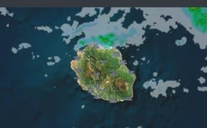 08h45: Réunion: après une nuit agitée, averses sur le nord