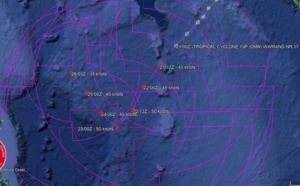 03UTC: cyclone OMA(15P): slow-moving and slowly weakening next 5 days