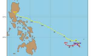 90W near Palau: not much expected next 48/72hours. 92W near Pohnpei: gradual development expected
