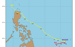 02AM(PH)/18UTC : 90W and 92W updated positions : 92W still likely to develop next 48/72hours