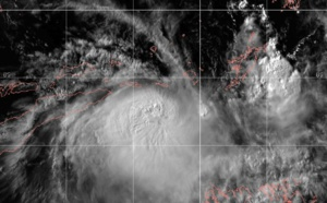 South Indian: cyclone LILI(26S) has formed near Timor, potential threat of strong winds and heavy rain to the island