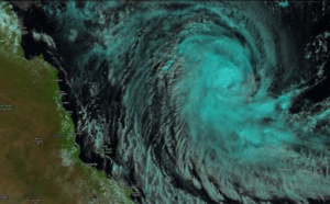 Coral Sea: Cyclone ANN(27P) is forecast to make landfall over Cape York near Coen in 48hours
