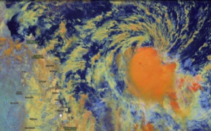 Coral Sea: TC ANN(27P) forecast to make landfall near Coen in 24 hours as a 35knots cyclone