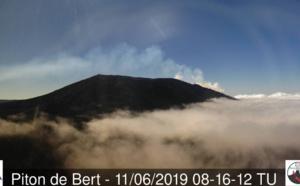 Eruption: point météo de midi sur la région du volcan et de la RN2