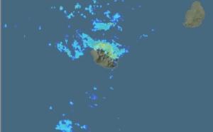 REUNION: nombreuses averses sur l'Est et le Nord ce matin