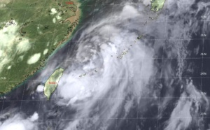TS DANAS(06W) is forecast to dissipate by 72hours over the mountainous terrain of South Korea