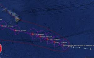 L'ouragan ERICK(06E) classé cyclone intense, gagne encore en puissance [animation satellite]