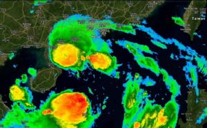 Hong Kong en alerte [ signal 8] avec le passage de la tempête tropicale Wipha
