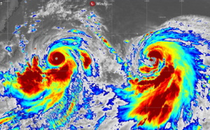 Ouragan/Typhon: Lekima devient cyclone intense, possible Super Cyclone, menace directement la région de Taiwan [VIDEO]