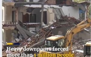 Ouragan/Typhon: vidéo impressionnante des inondations en Chine dues au typhon Lekima