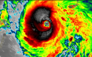 TY Langling now a dangerous category 4 tracking over Miyakojima. 14W: update