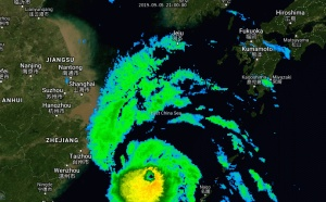 Typhoon Lingling: landfall in NKorea in 24h. Faxai: bearing down on Tokyo in 48h as a Typhoon
