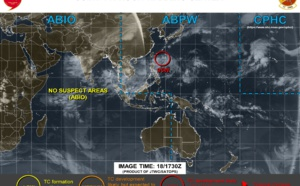 Invest 95W: Tropical Cyclone Formation Alert
