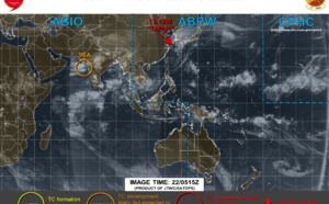 Tapah(18W) becoming extratropical and accelerating. Invest 96A: upgraded to medium