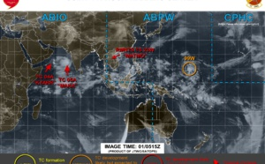 TC Kyarr: Final Warning. ex Matmo, TC Maha, Invest 99W & 90W updates