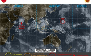 Invest 99W: Tropical Cyclone Formation Alert. TC Maha: intensifying. 90W and ex TC Kyarr: updates