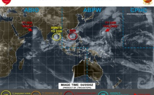 Invest 90W: Tropical Cyclone formation Alert. 05A, 24W, 23W: updates