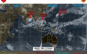 Halong(24W), Nakri(25W) and Matmo(23W) updates.