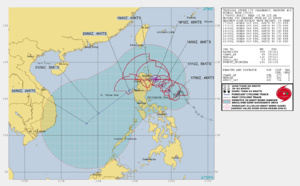 Tropical Storm Kalmaegi & Typhoon Fengshen: updates at 17/03UTC