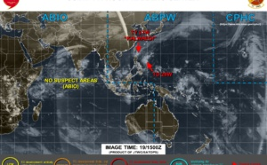 Typhoon Kalmaegi and TD 28W: updates at 19/15UTC
