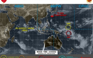 Invest 90P: Tropical Cyclone Formation Alert. Invest 94W, ex Fung-Wong(28W): updates