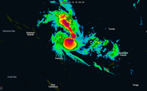 TC 01P named Rita and intensifying, could reach category 1 within 12/18hours