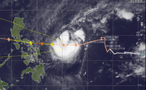 Kammuri(29W) still forecast to intensify markedly next 48h, approaching Central Philippines