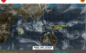 Invest 96S: models show little development next 96h
