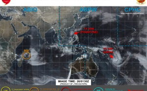 30W(Phanfone), 04P( Sarai) and Invest 96S: updates at 27/03UTC