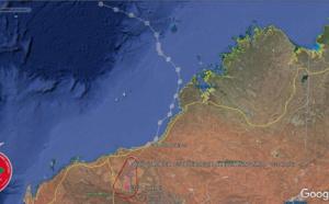 TC 06S(BLAKE) made landfall near Wallal Downs, lifetime peak intensity was 50knots