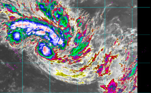 93P now TC 08P(TINO), gradually intensifying and rapidly approaching Fiji