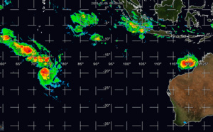 South Indian: TC 14S and TC 13S(FRANCISCO) update at 06/03UTC