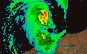 TC 14S(DAMIEN) CAT 1 US, intensifying, approaching Karratha, update at 07/15UTC