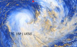 South Pacific: TC 15P(UESI) update at 10/03UTC