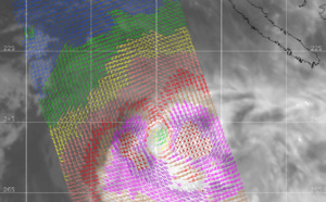 South Pacific: TC 15P(UESI) ,increasingly asymmetrical, update 12/15UTC