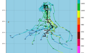 South Indian: Invest 94S, slow-moving next few days before developing while moving SE