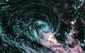 16S(GABEKILE): reduced to a 35knots TC, 93P & 96P updates at 18/06UTC