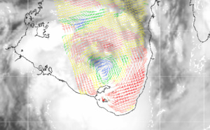 TC 19P over the Gulf of Carpentaria. Remnants of 17P and 18P. 90S: TCFA. Updates at 23/15UTC