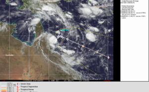 CORAL SEA: TC 23P: slow-moving next 48hours, forecast to reach US/Category 1 by 96hours, 01/15utc update