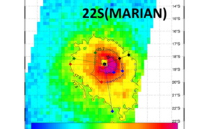 SOUTH INDIAN: 22S(MARIAN) still a US/Category 2, Smap(Nasa) agreed very well, 02/03utc update
