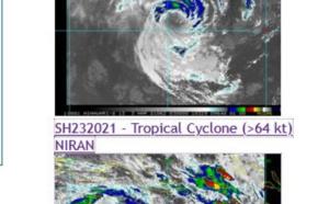 Southern HEM: a couple of US/CAT 1 cyclones, 22S(MARIAN) is weakening but 23P(NIRAN) is intensifying, 03/03utc updates